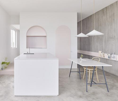 Footscray apartment: a  Melbourne l'interior design si sposa con l'arte