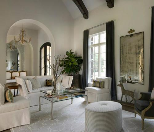 A cavallo nel Texas di Thompson Custom Homes