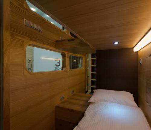 SLEEPBOX: la scatola itinerante