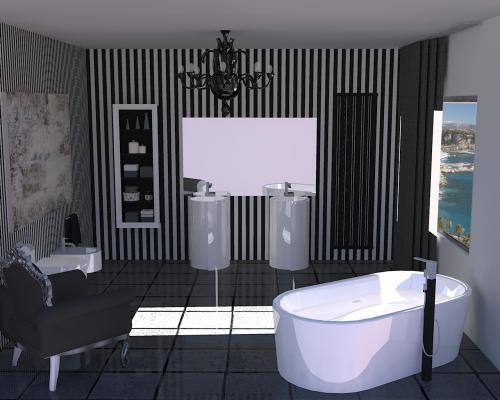 Progetti di interior design architettura e prodotti di - Progetti bagno moderno ...
