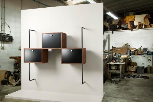 THE FLOATING BOOKCASE BY PHILIPPE NACSON