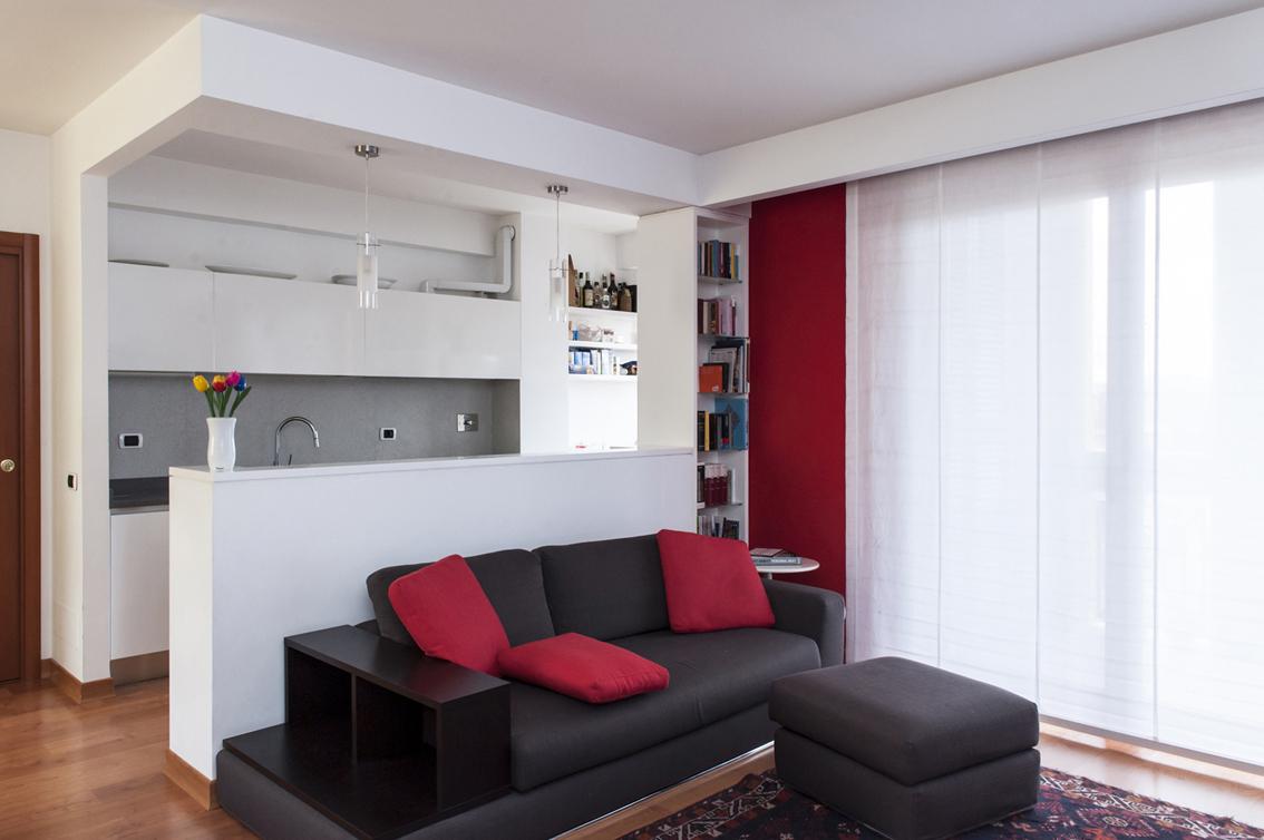 Bagno idee scala - Divisori cucina soggiorno ...