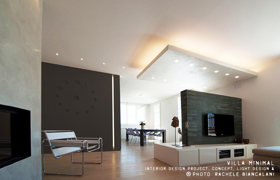 Colore Di Soggiorno : Villa minimal