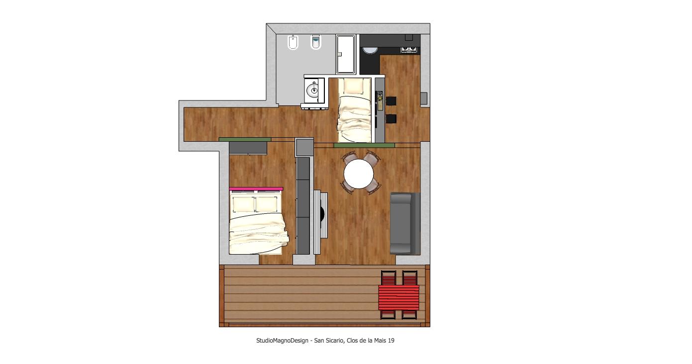 Progettazione di piccoli spazi for Piccoli progetti di ranch